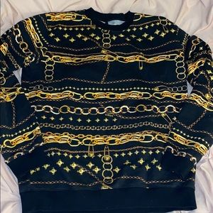 Versace versus sweater